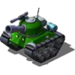 Sherman Tank Green