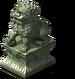 Jade Lion Statue