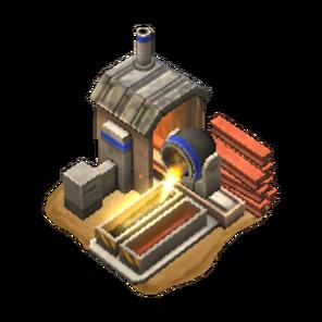 Mobile steelfactory