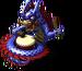 Blue Dragon Statue