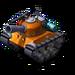 Sherman Tank Orange