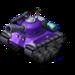 Sherman Tank Purple