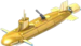 Gold Seawolf Gunboat