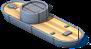 Ironclad Gunboat Back