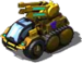 Blazing Bison Halftrack Artillery III