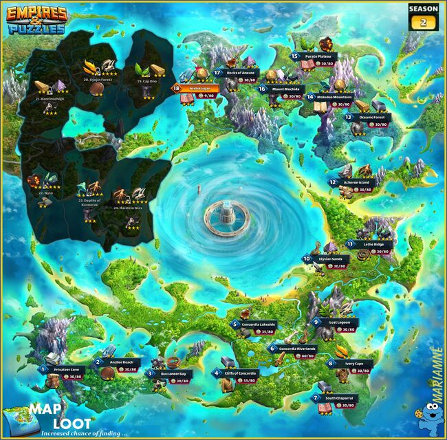 Season 2 Map