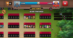 War Finished
