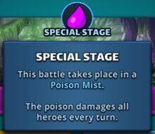 Poison Mist Stage Info