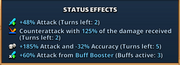 Buff booster