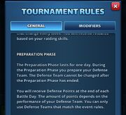 Preparation Phase (Raid Tournament)