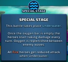 Underwater Info
