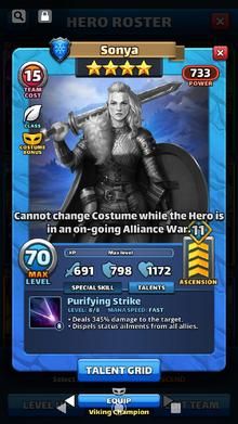 Sonya Viking Champion