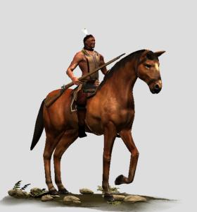 Mounted Tribal Gunners