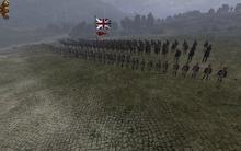Dismounted Dragoons