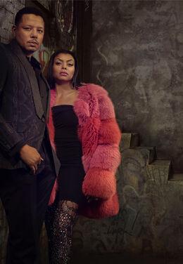 Lucious & Cooke Lyon - Empire Season 3 Official Cast Photo