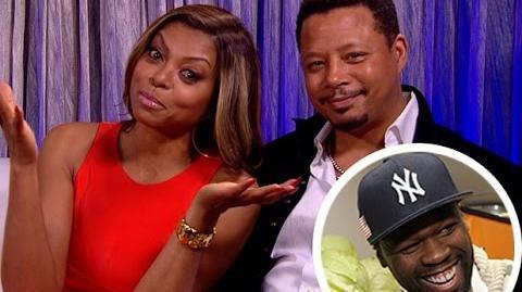 'Empire' Stars Taraji P. Henson, Terrence Howard Respond to 50 Cent Diss