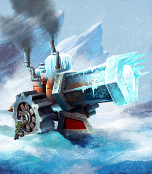 Ice canon new design