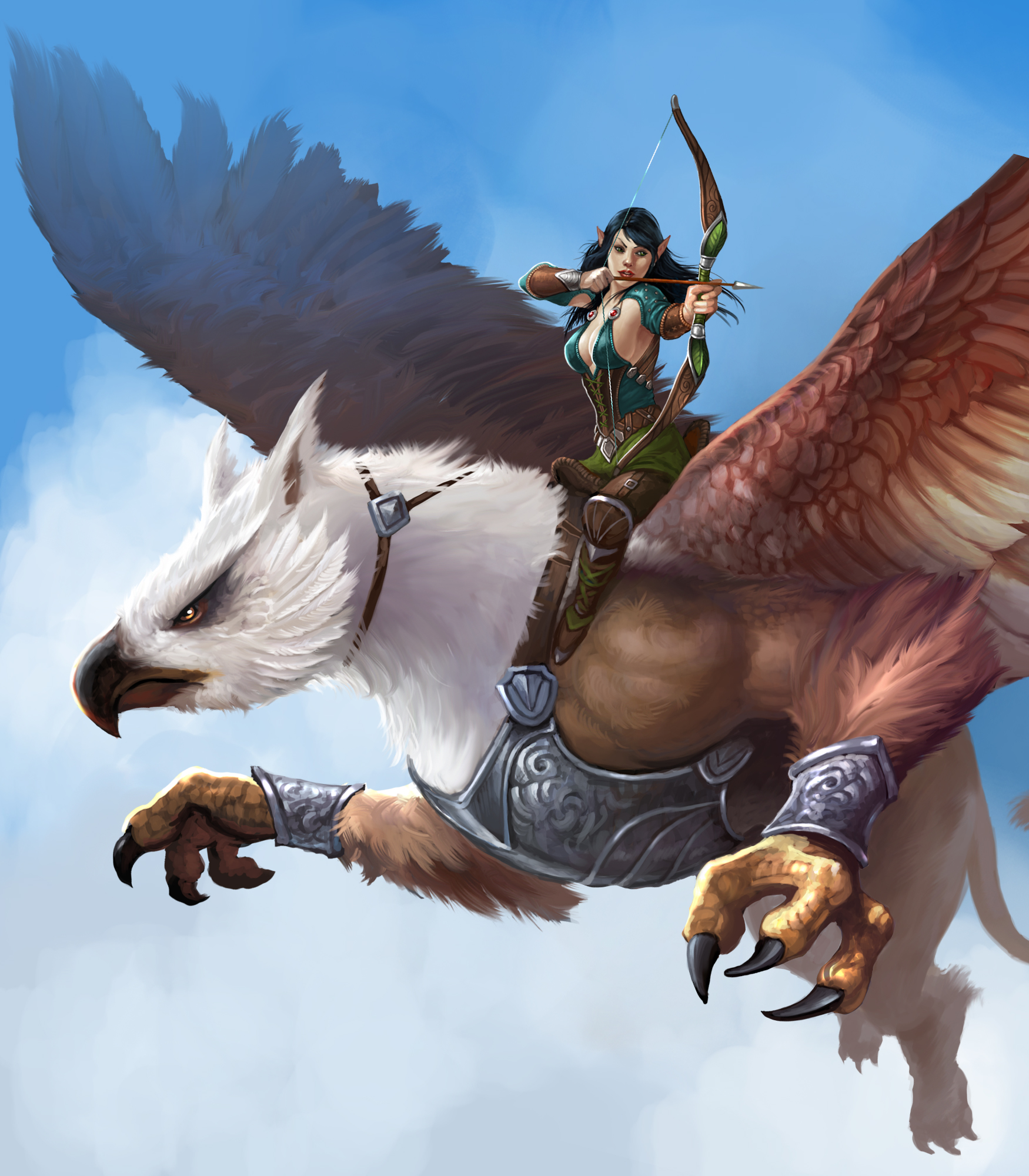 Griffin rider emporea wiki fandom powered by wikia for The griffin