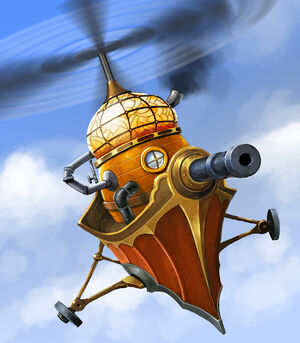 Gyrocopter new design