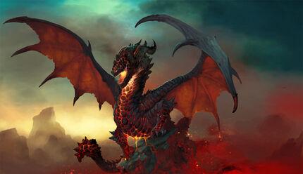 Black dragon preloader