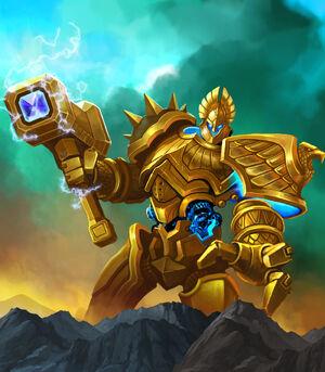 Gold titan new design