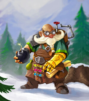 Dwarf alchymist new design