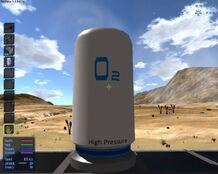 Oxygen tank (cv, ba)
