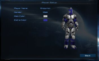 Player Character Male