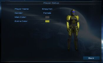Player Character FEMALE