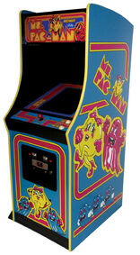1676971-ms pac man arcade machine