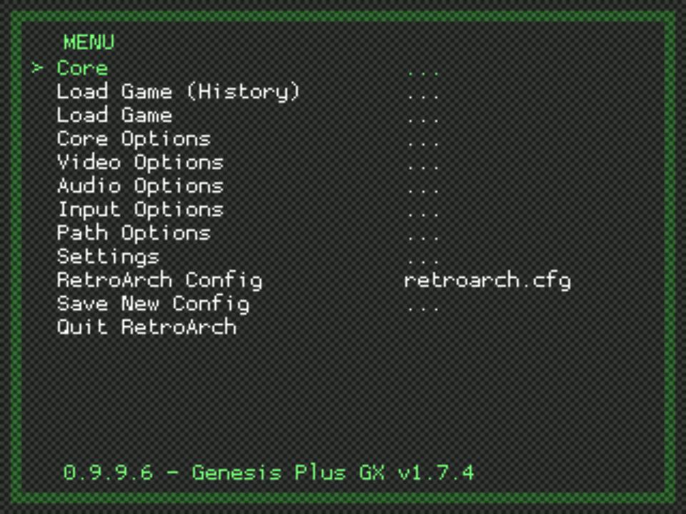 How To Get A Libretro Core