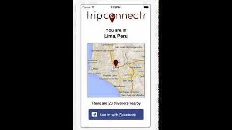 Tripconnectr - Demo of the App