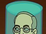 Harry S. Truman's head