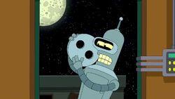 Bender's beloved came home