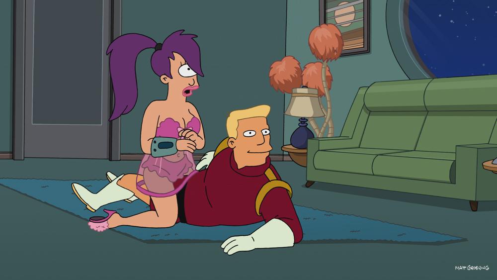 Futurama fry and leela sex