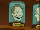 Jimmy Carter's head