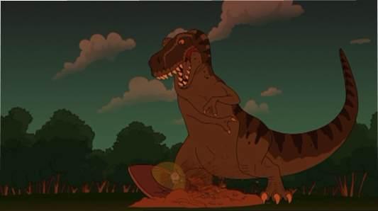 Scary Door - T-Rex & The Scary Door | Futurama Wiki | FANDOM powered by Wikia