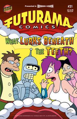 Futurama-21-Cover