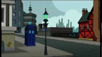 The Doctor on Futurama-0