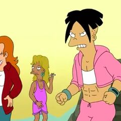 genderbent Fry and Amy
