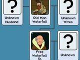 Waterfall family