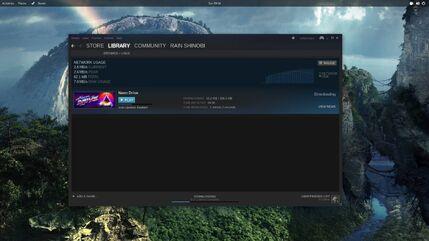 Void desktop