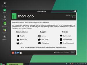 Manjaro Linux 0.8.13