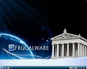 Frugalware-screenshot