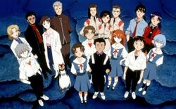 Characters of Evangelion