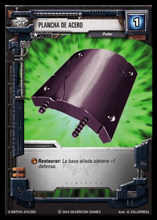 073 Plancha de acero