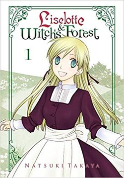 Liselotte & Witch's Forest Volume 1 Cover