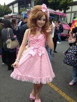 Jpopsummit pinkdress