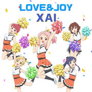 XAI-Love and Joy-AnimaYell CD cover