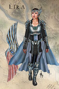 Lira Blue Armor Concept